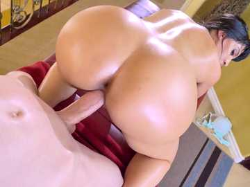 Soft ass Latina Mercedes Carrera takes nice doggy style pounding from Jordie