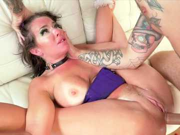 Bryan Gozzling lets a MILF Veronica Avluv taste the rough sex in porn video
